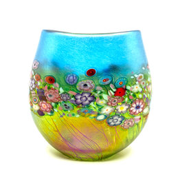 ROBERT HELD FLOWER BOUQUET SMALL FLAT CRUCIBLE