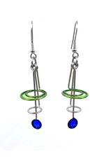 CHRISTOPHER ROYAL RIPPLE DROP EARRINGS