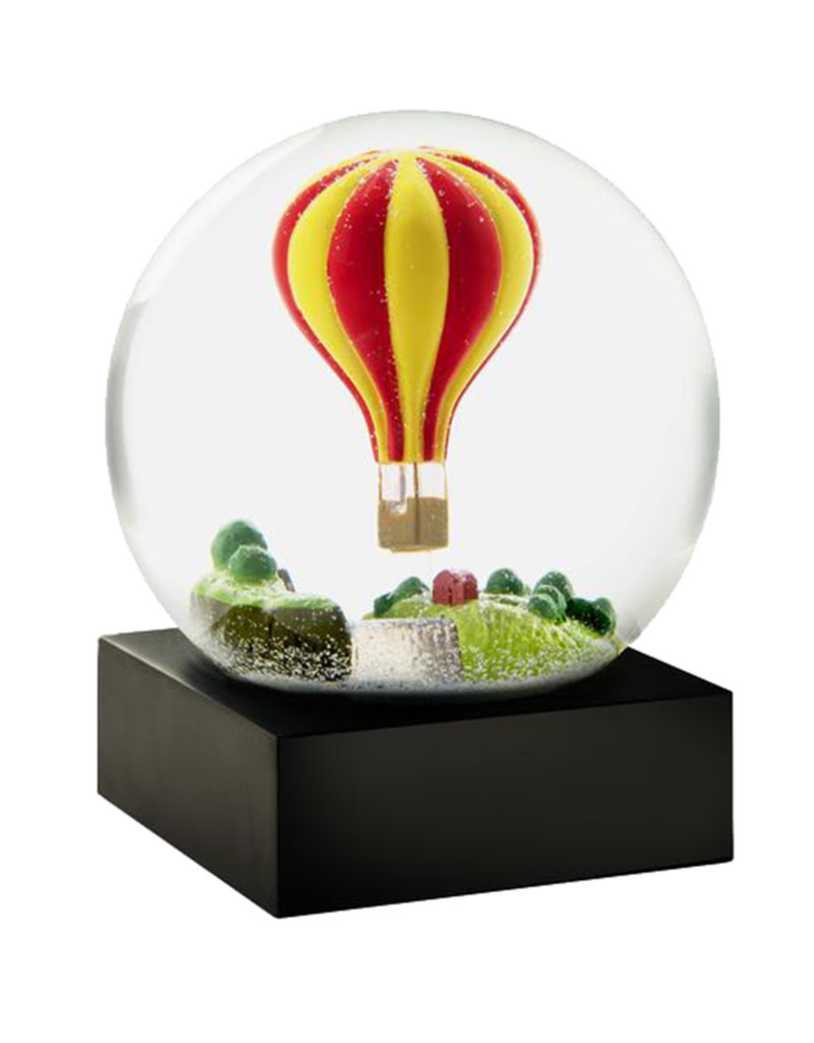 COOL SNOW GLOBES HOT AIR BALLOON SNOW GLOBE