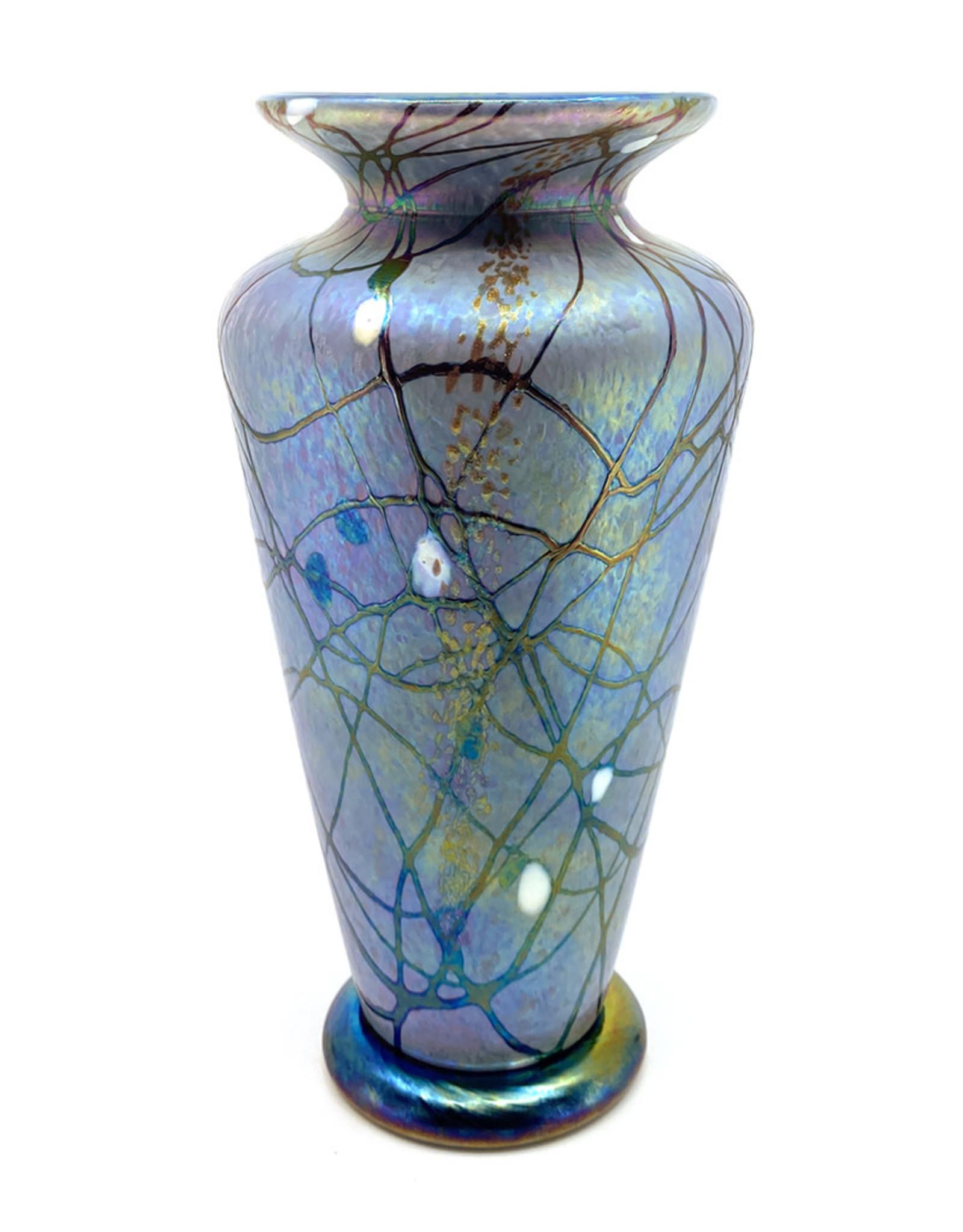 VINES ART GLASS MEDIUM TRADITIONAL PARISIAN FOG VASE
