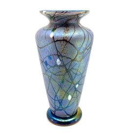 VINES ART GLASS MEDIUM TRADITIONAL PARISIAN FOG VASE