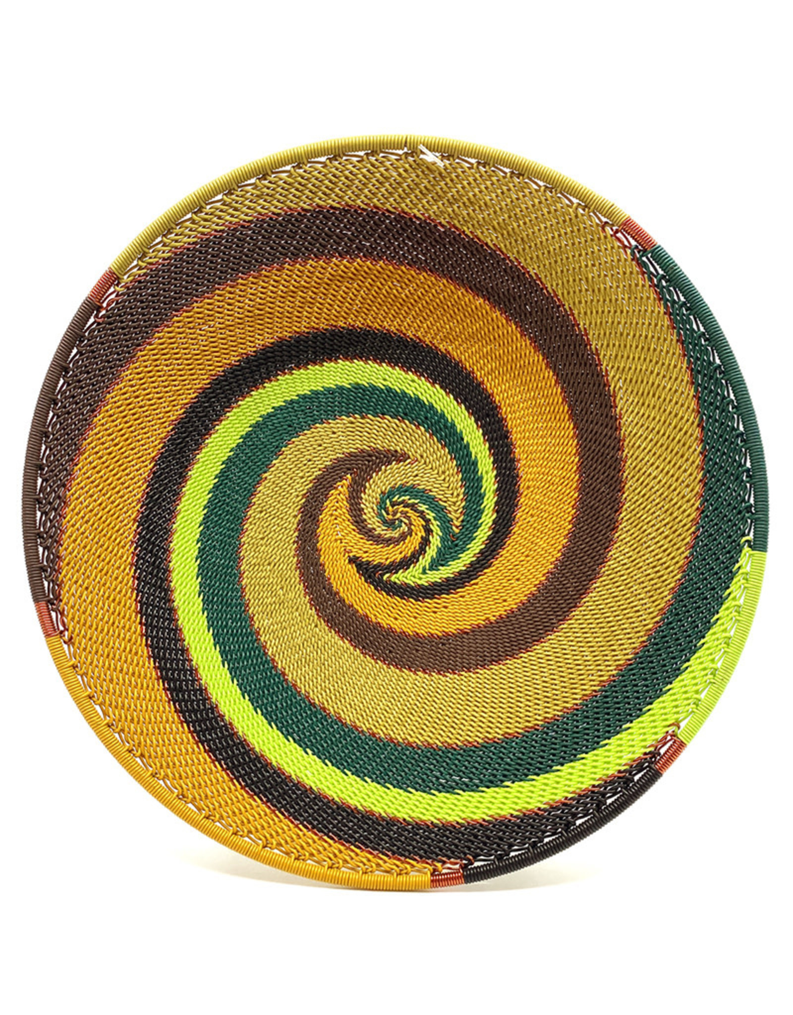 BASKETS OF AFRICA SMALL FOREST PLATTER