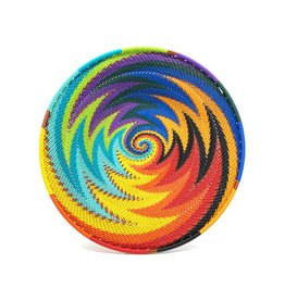 BASKETS OF AFRICA SMALL RAINBOW PLATTER