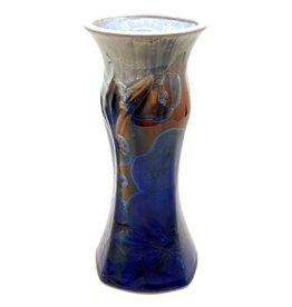 CAMPBELL STUDIOS STELLAR MEDIUM CARVED VASE