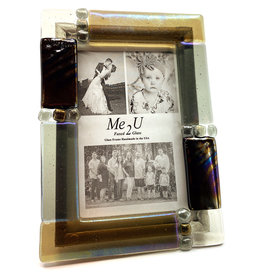 ME 2 U 4X6 CITY SUEDE PICTURE FRAME
