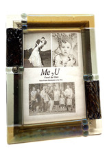 ME 2 U 5X7 CITY SUEDE PICTURE FRAME