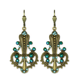 ANNE KOPLIK DESIGNS TURQUOISE DREAM EARRINGS