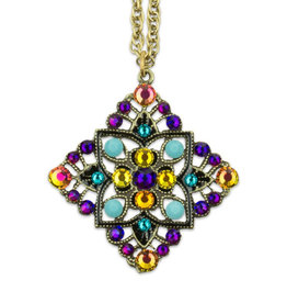 ANNE KOPLIK DESIGNS MOSAIC DIAMOND NECKLACE