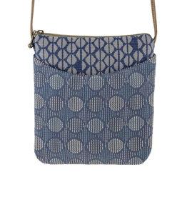 MARUCA TAMARI BLUE CUPCAKE CROSSBODY BAG