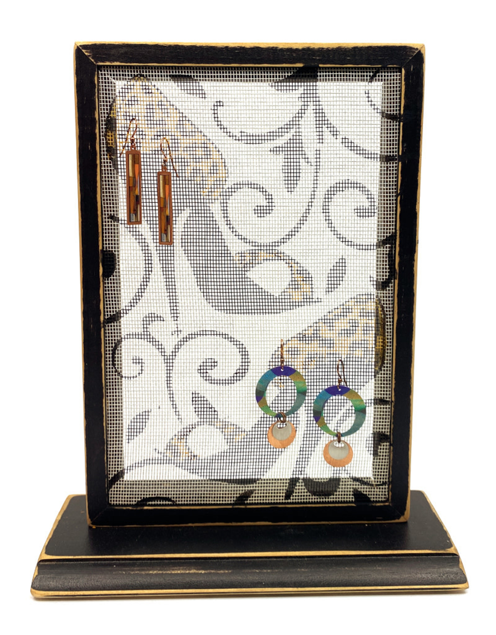 EARRING HOLDER GALLERY SHOES EARRING HOLDER WITH BASE