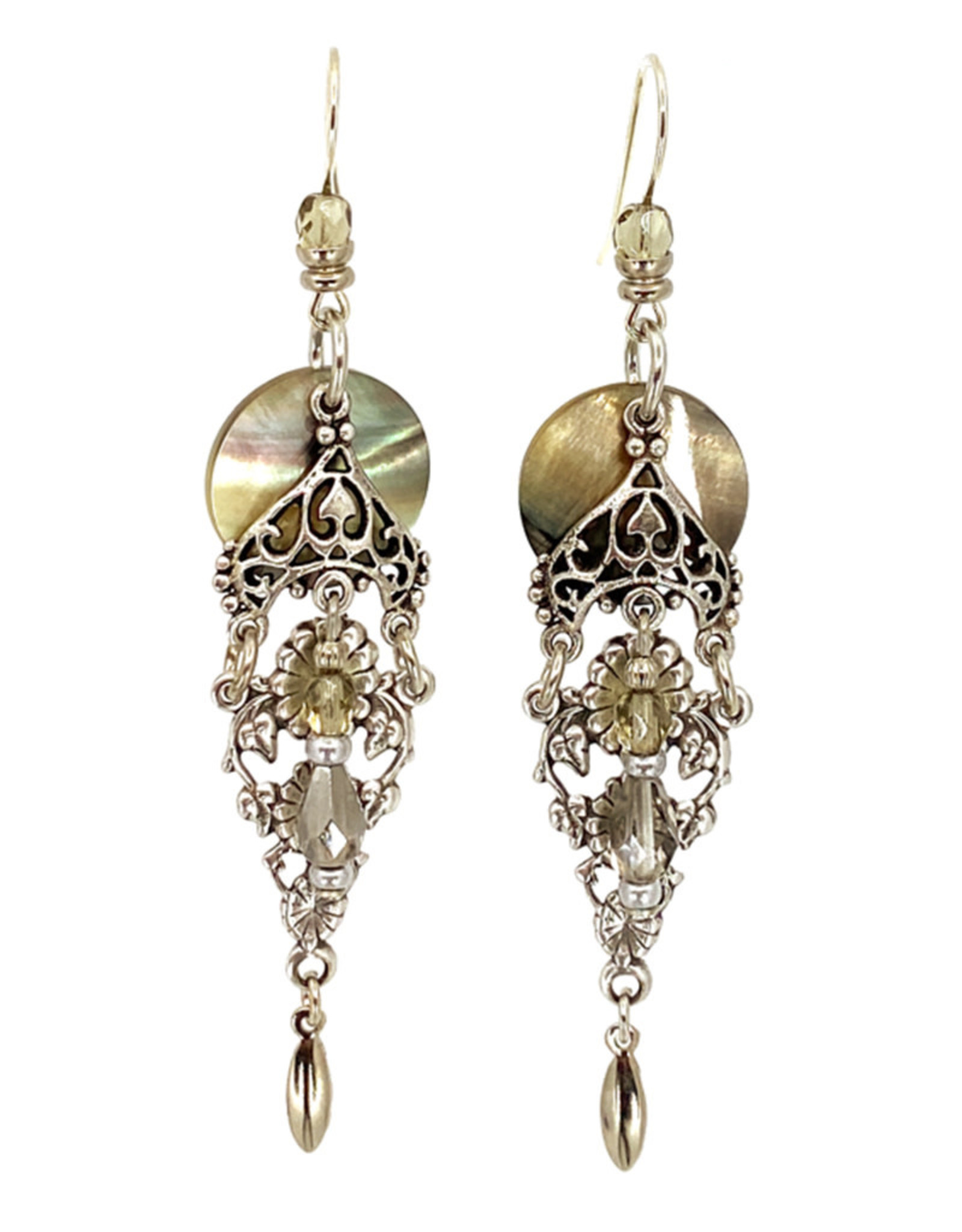 JOHN MICHAEL RICHARDSON BAROCOCO DROPS EARRINGS