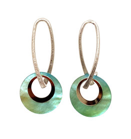 JOHN MICHAEL RICHARDSON LOOPS DE HOOPS EARRINGS