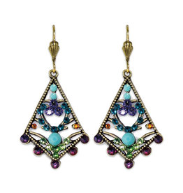 ANNE KOPLIK DESIGNS PERSIAN FANTASY EARRINGS