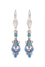 ANNE KOPLIK DESIGNS BLUE LADY EARRINGS