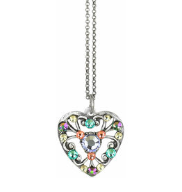 ANNE KOPLIK DESIGNS MILA HEART NECKLACE