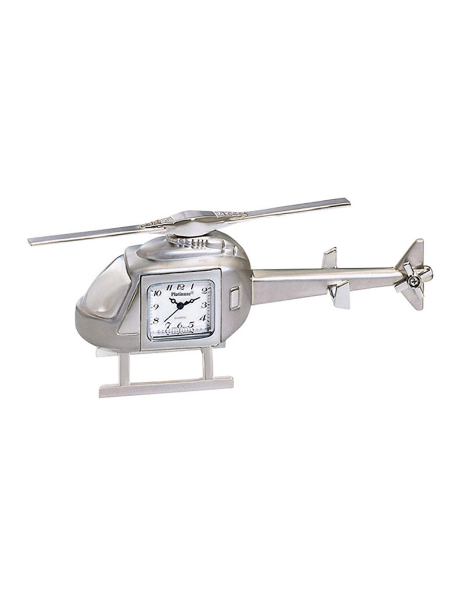 SANIS HELICOPTER MINIATURE CLOCK