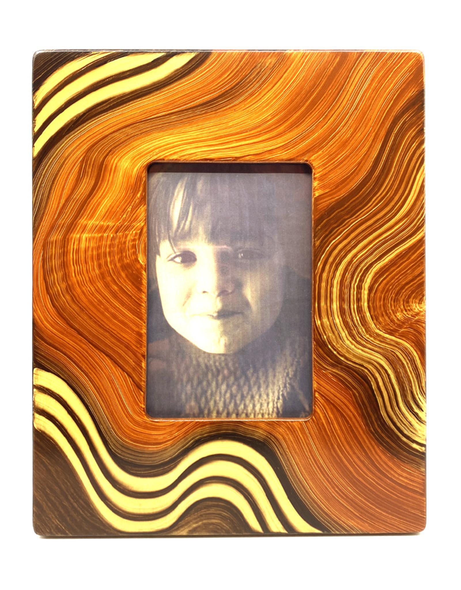 GRANT-NOREN 4X6 WAVES OF GRAIN PICTURE FRAME