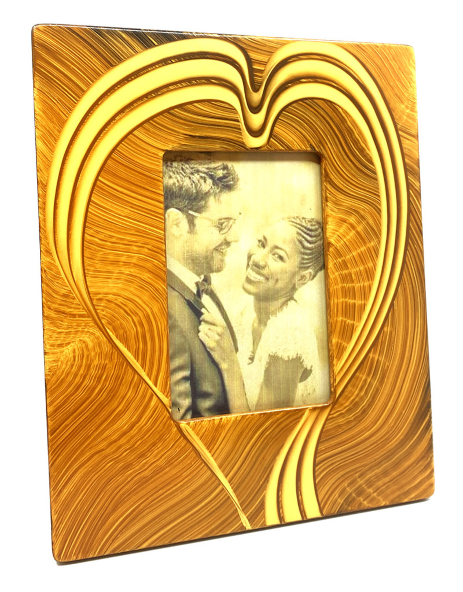 GRANT-NOREN 4X6 ABSTRACT HEART PICTURE FRAME