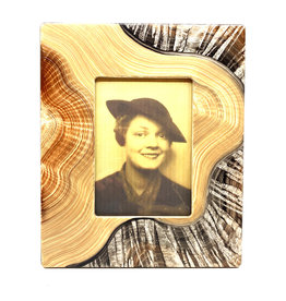 GRANT-NOREN 5X7 WOOD GRAIN PICTURE FRAME