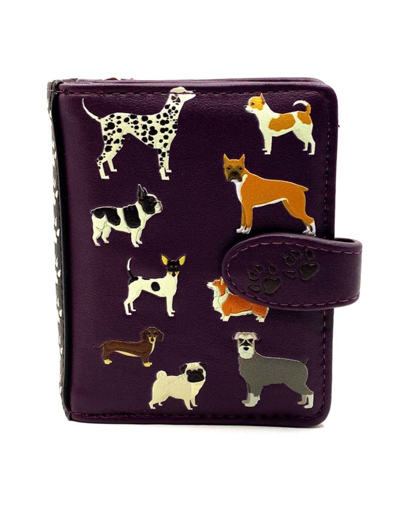 SHAGWEAR DOGS DOGS DOGS SMALL WALLET