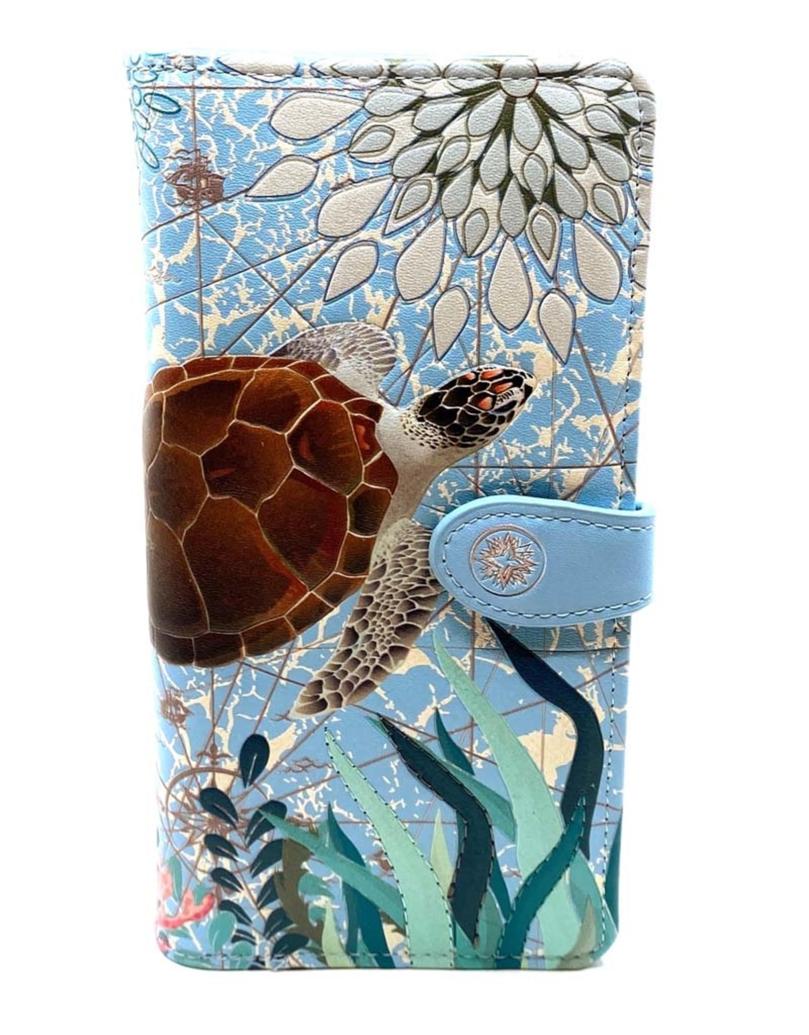 SHAGWEAR SEA TURTLE WALLET