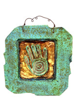 PAPER & STONE HEALING HAND WALL PLAQUE