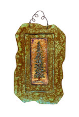 PAPER & STONE SMALL REDWOOD TREE WALL PLAQUE