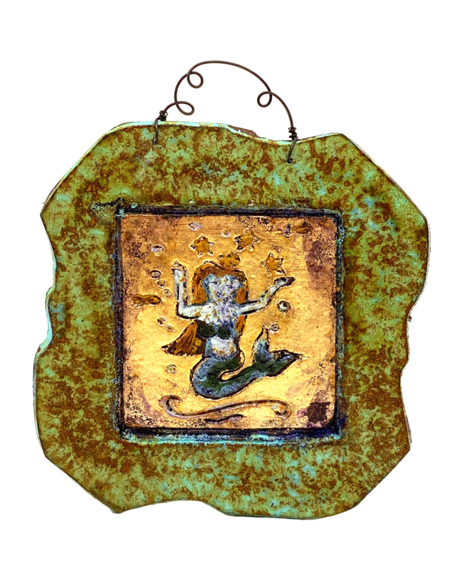 PAPER & STONE SMALL MERMAID WALL PLAQUE