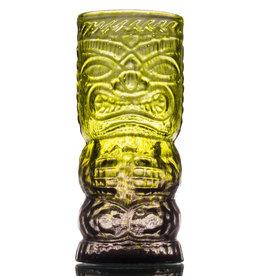 IANNAZZI GLASS DESIGN O.G. JUNGLE FOG GLASS TIKI MUG