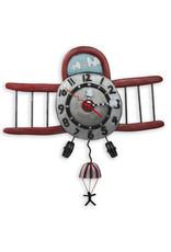 ALLEN DESIGNS AIRPLANE JUMPER CLOCK