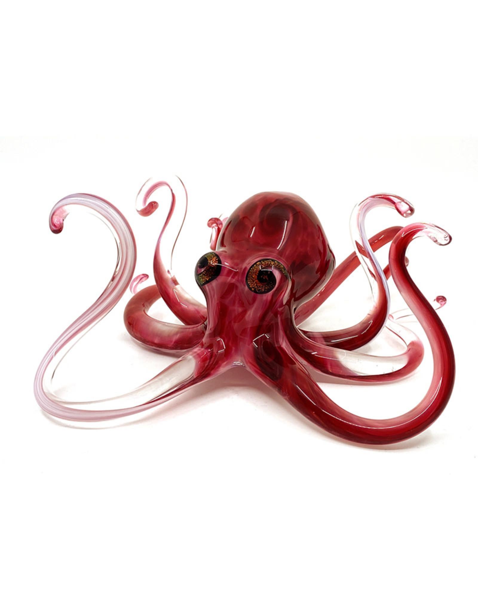 MICHAEL HOPKO SMALL RED OCTOPUS