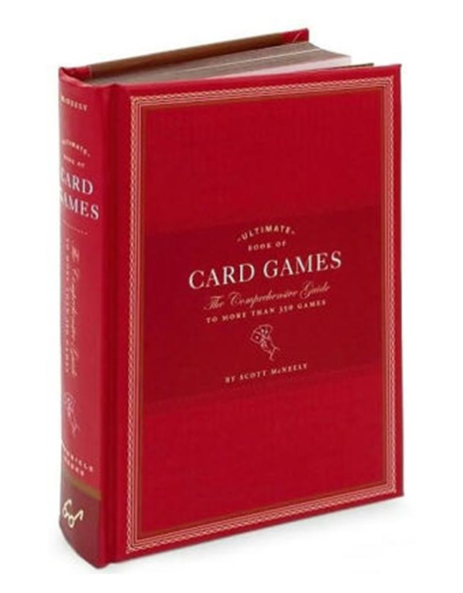 CHRONICLE BOOKS ULTIMATE BOOK OF CARD GAMES