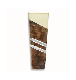 SANTA FE STONEWORKS SPALTED BEECH & MOTHER OF PEARL MONEY CLIP