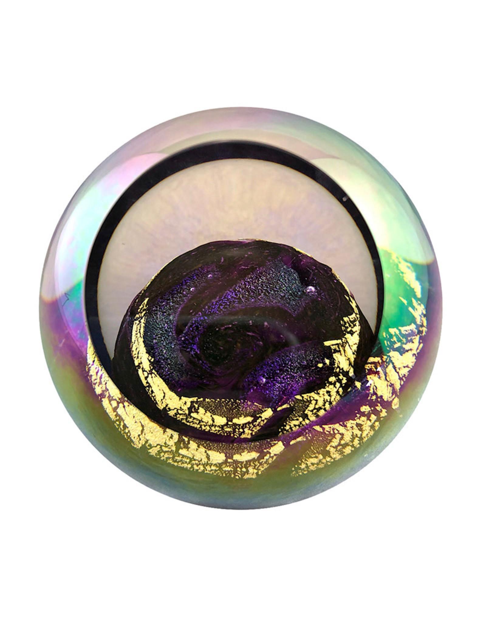 GLASS EYE VENUS PLANETARY PAPERWEIGHT