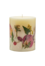 ROSY RINGS LEMON BLOSSOM & LYCHEE SMALL ROUND BOTANICAL CANDLE