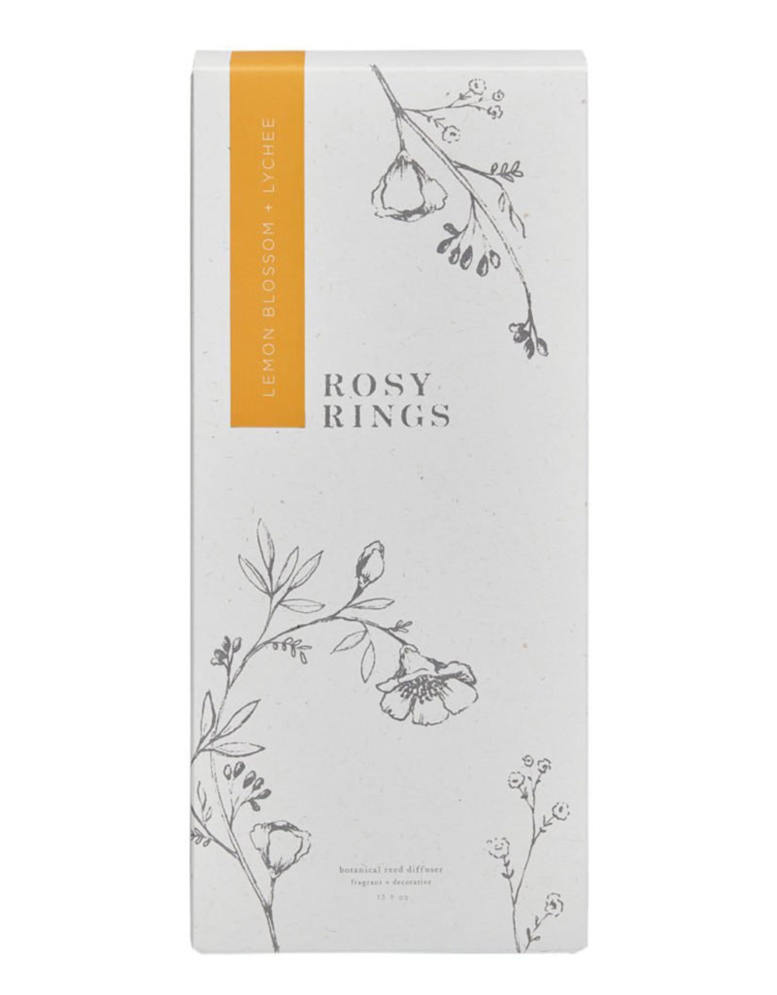 ROSY RINGS LEMON BLOSSOM & LYCHEE BOTANICAL DIFFUSER