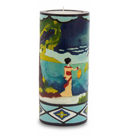 MOON ALLEY LARGE ASIAN LANDSCAPE CANDLE
