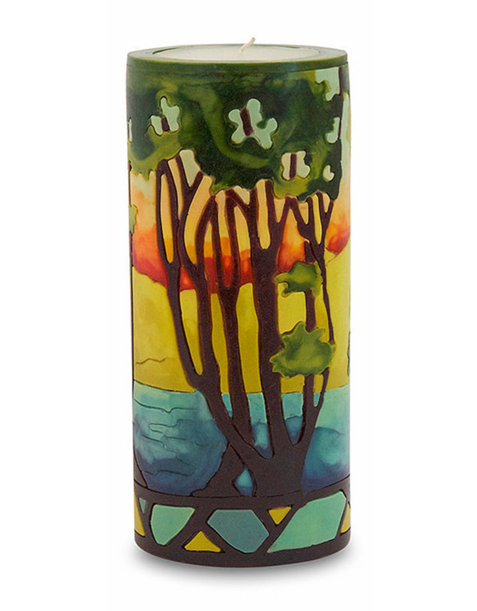 MOON ALLEY LARGE TREES CANDLE