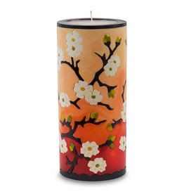 MOON ALLEY LARGE RED PLUM BLOSSOM CANDLE