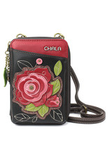 CHALA RED ROSE WALLET CROSSBODY