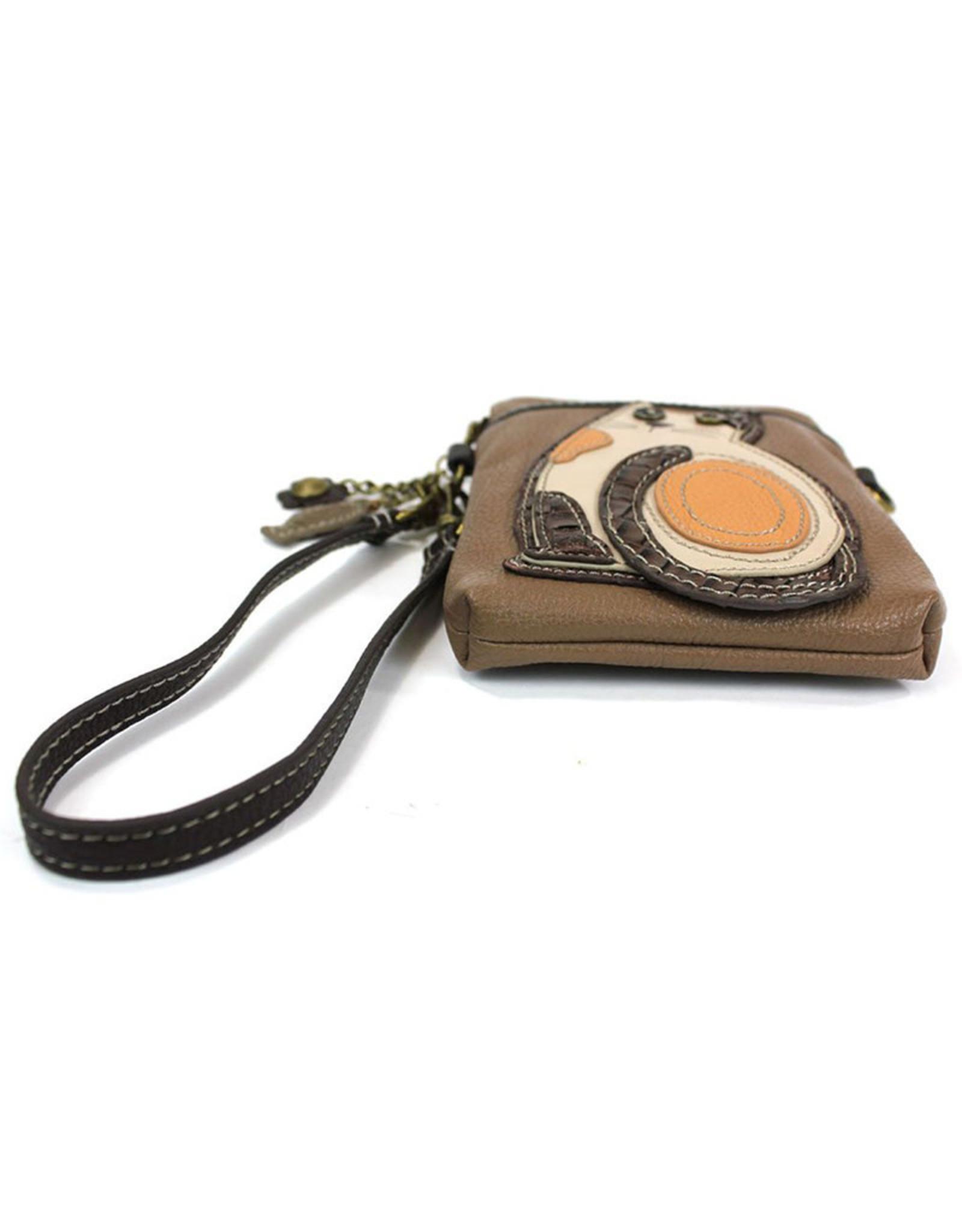 CHALA BROWN CAT CELL PHONE CROSSBODY