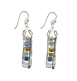 ART BY ANY MEANS LADDER EARRINGS