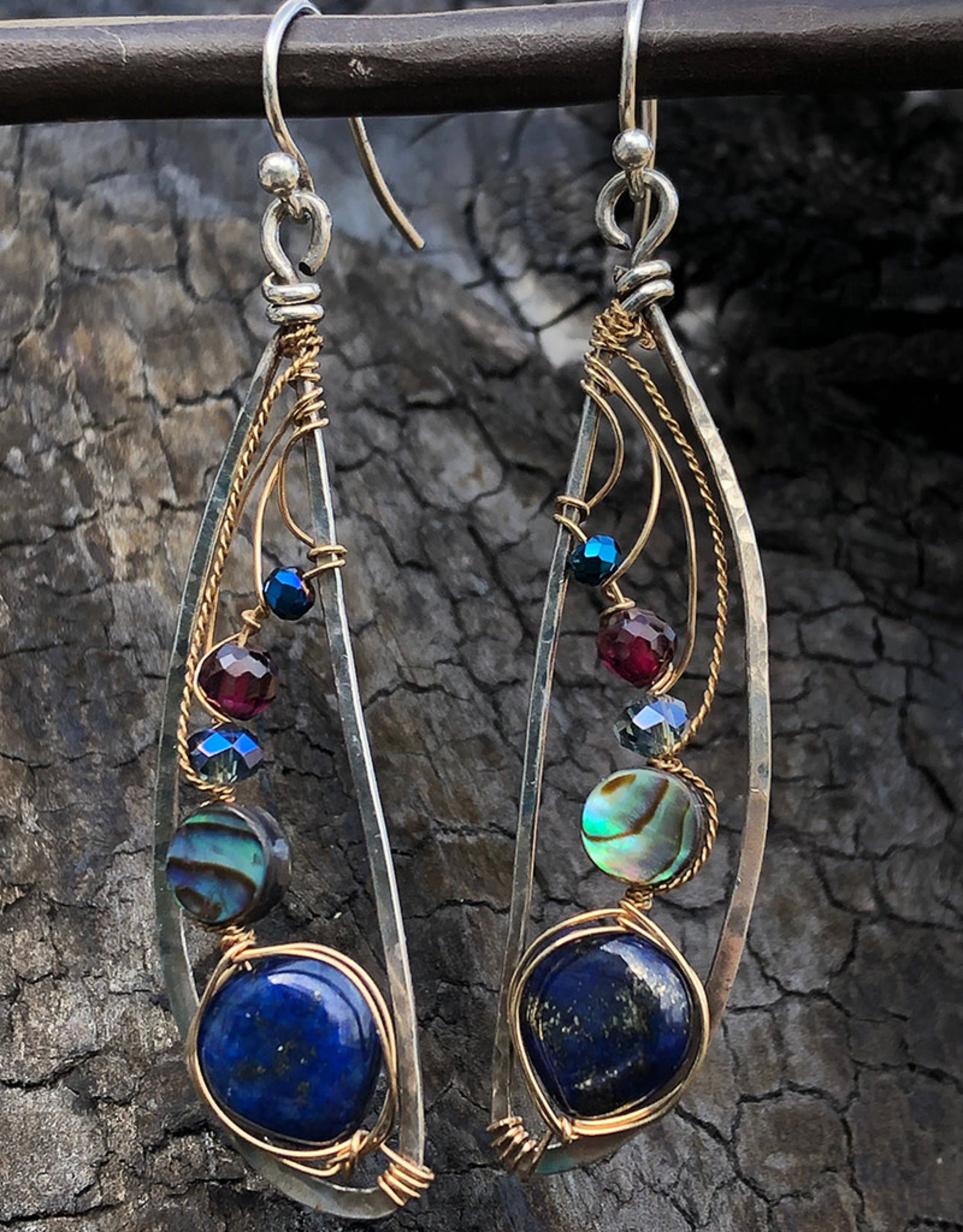 ART BY ANY MEANS JEWEL DRAGONFLY EARRINGS
