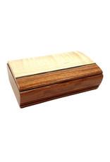 MIKUTOWSKI WOODWORKING MAPLE & BUBINGA TREASURE BOX