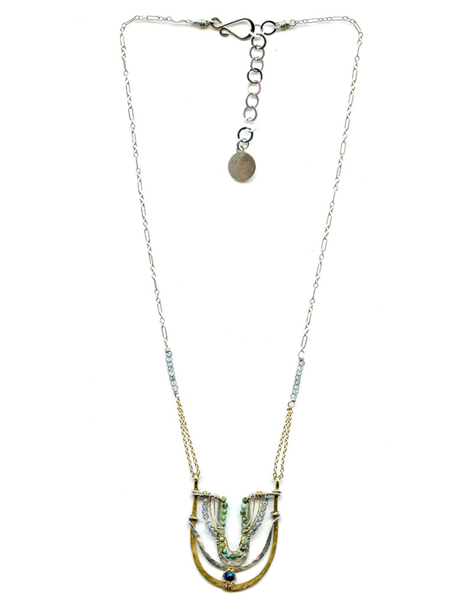ART BY ANY MEANS GORGE OF GEM NECKLACE