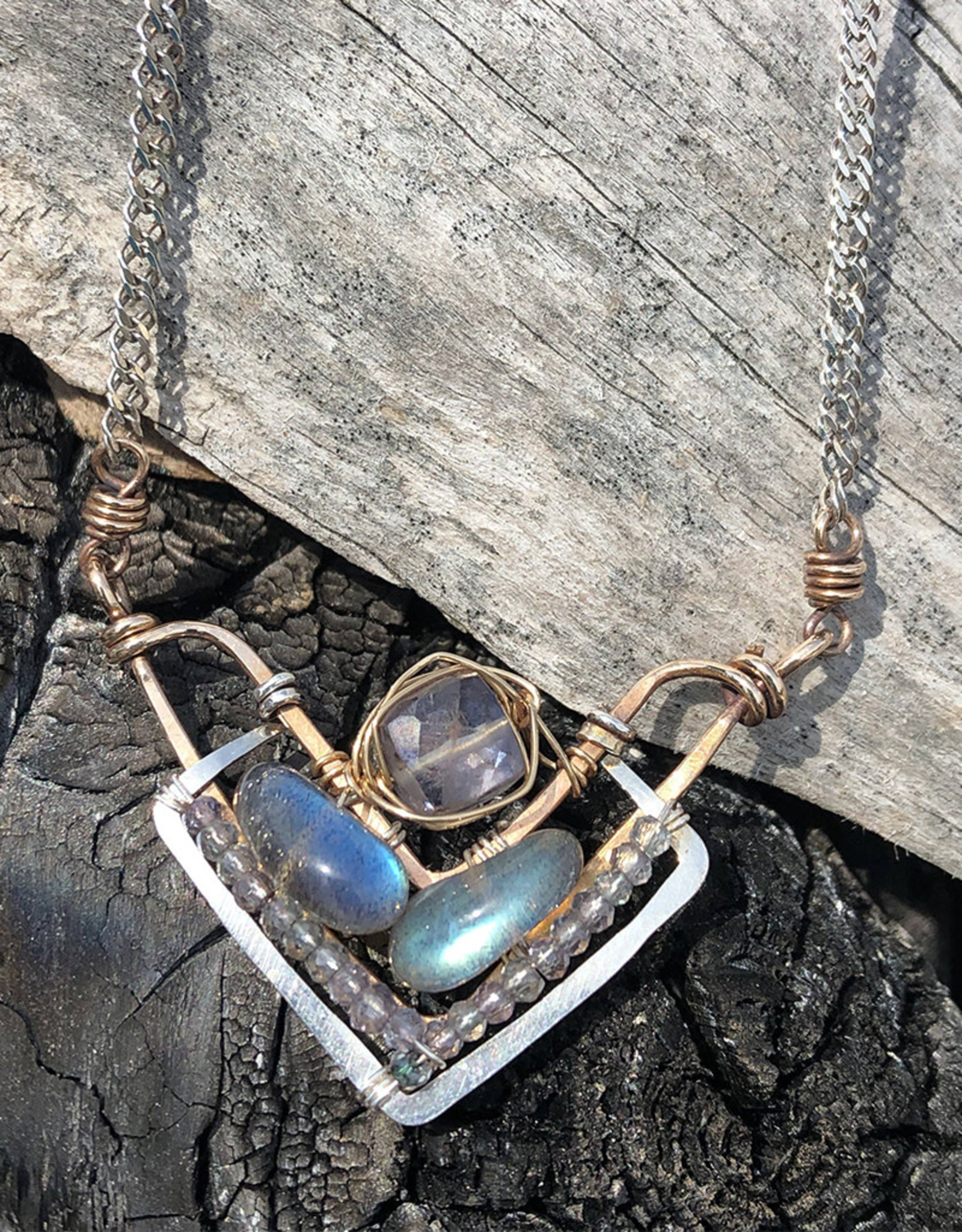 ART BY ANY MEANS CORBEL NECKLACE