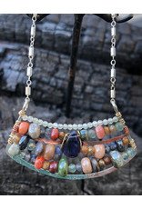 ART BY ANY MEANS MOSAIC OPAL NECKLACE