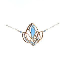 ART BY ANY MEANS LOTUS NECKLACE
