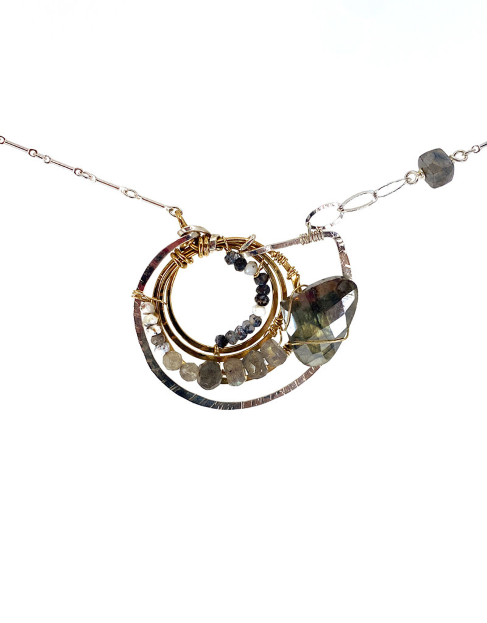 ART BY ANY MEANS AMMONITE NECKLACE