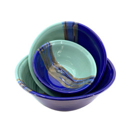 CLAY IN MOTION MYSTIC WATER NESTING BOWL SET